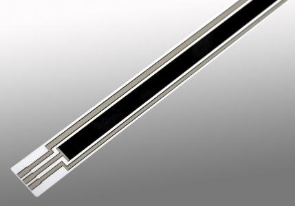linearer Polymer-Potentiometer auf Folie