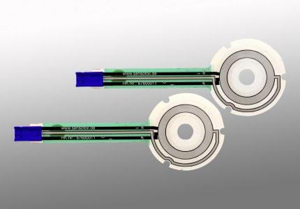 Runde Folienpotentiometer